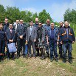 Predstavnici Ministarstva vanjskih poslova Japana posjetili timove FUCZ na deminerskom zadatku na brdu Žuč