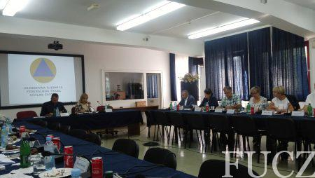 Održana 29. redovna sjednica Federalnog štaba civilne zaštite