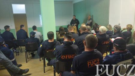 """Pripadnici FUCZ u Konjicu prisustvovali predavanju na temu """"Psihološka pomoć u gorskom spašavanju"""""""