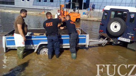 FUCZ transportovat će humanitarnu pomoć Vlade FBiH Republici Albaniji koju su nedavno pogodile katastrofalne poplave
