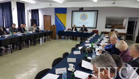 Održana 31. redovna sjednica Federalnog štaba civilne zaštite