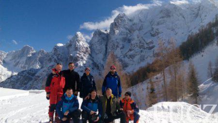 Vodiči i potražni psi FUCZ u Sloveniji dobili međunarodne licence L3 za spašavanje  iz lavina