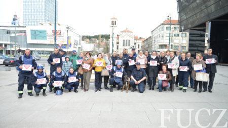 FUCZ demonstracijom humanitarnog deminiranja obilježila Međunarodni dan borbre protiv mina