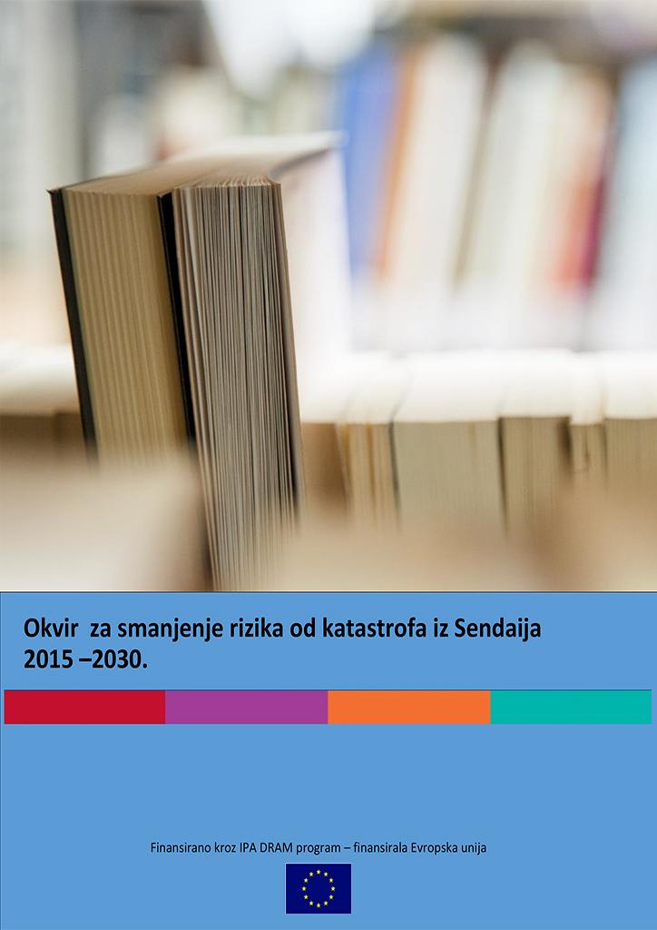 Promotivni materijal Sendai okvira Bosanski jezik